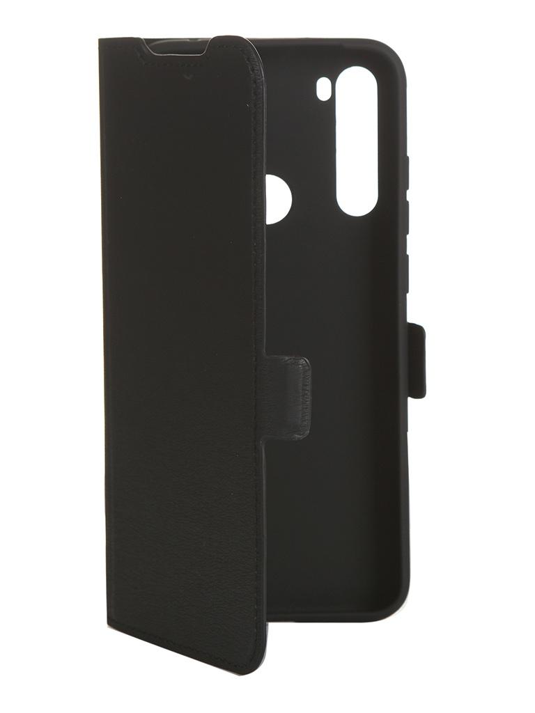 Чехол DF для Xiaomi Redmi Note 8T xiFlip-55 Black