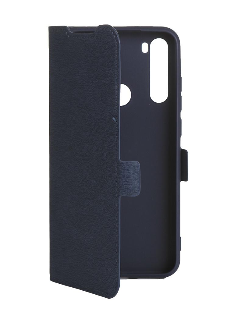 Чехол DF для Xiaomi Redmi Note 8T xiFlip-55 Blue