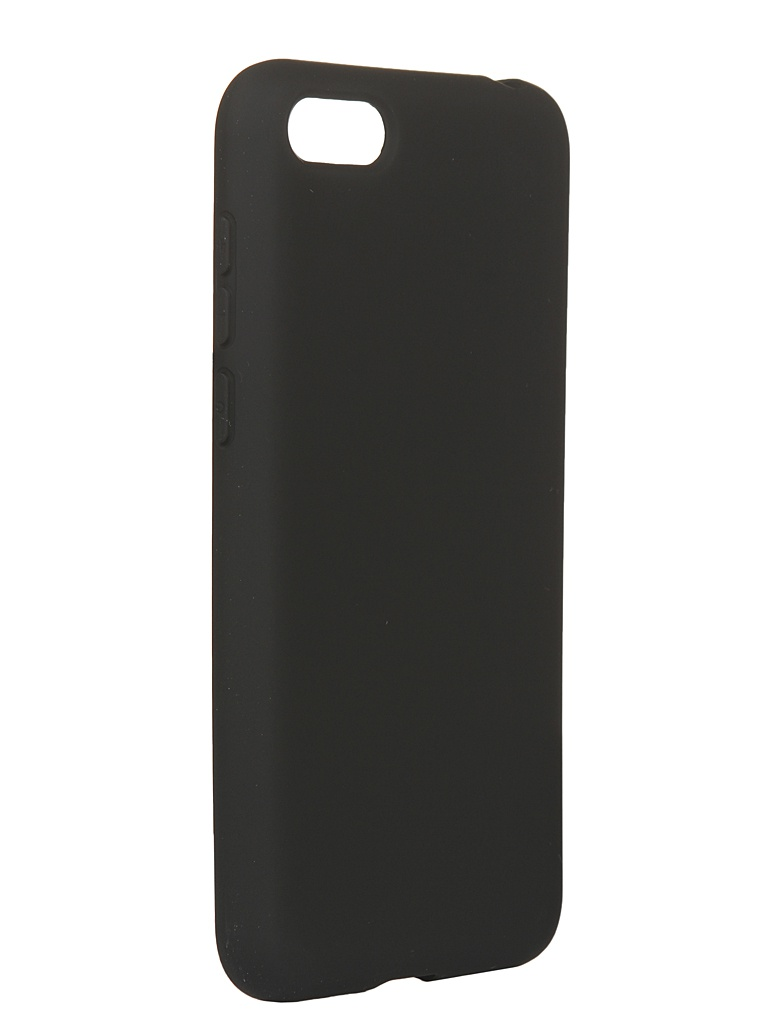 Чехол DF для Huawei Y5 (2018)/Y5 Prime (2018)/Honor 7A/Y5 Lite (2018) hwOriginal-07 Black