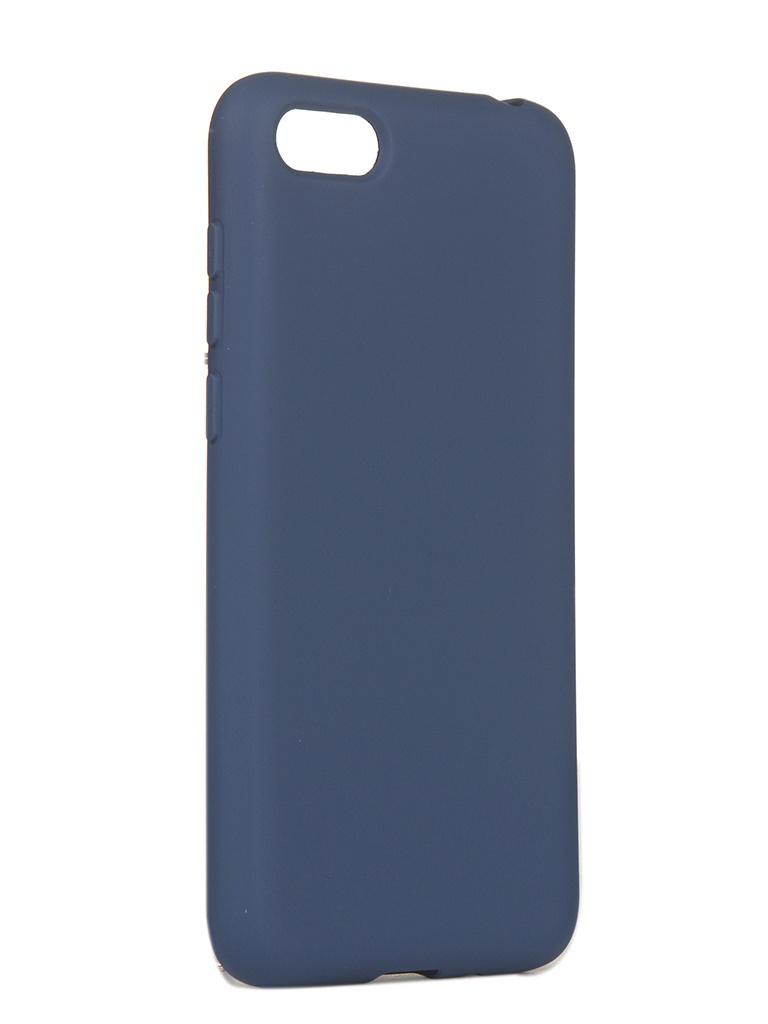 Чехол DF для Huawei Y5 (2018)/Y5 Prime (2018)/Honor 7A/Y5 Lite (2018) hwOriginal-07 Blue