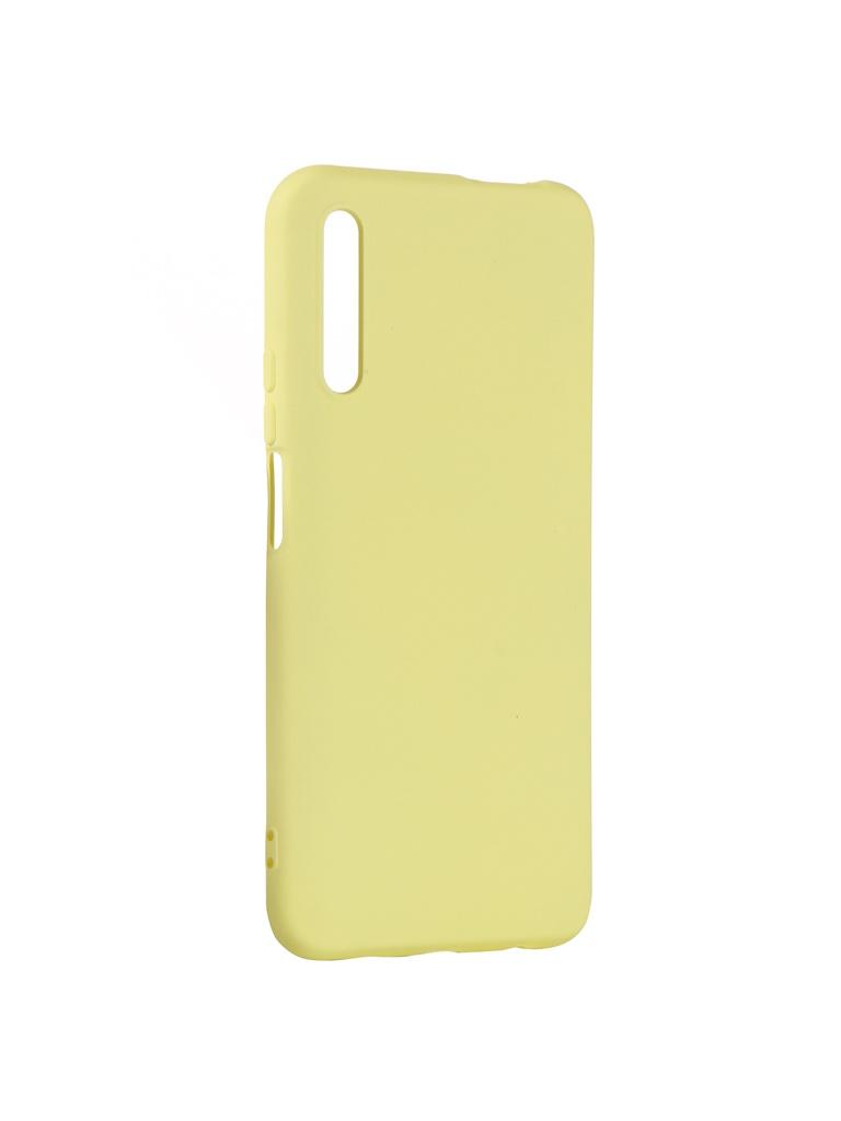 Чехол DF для Huawei Y9s hwOriginal-08 Yellow
