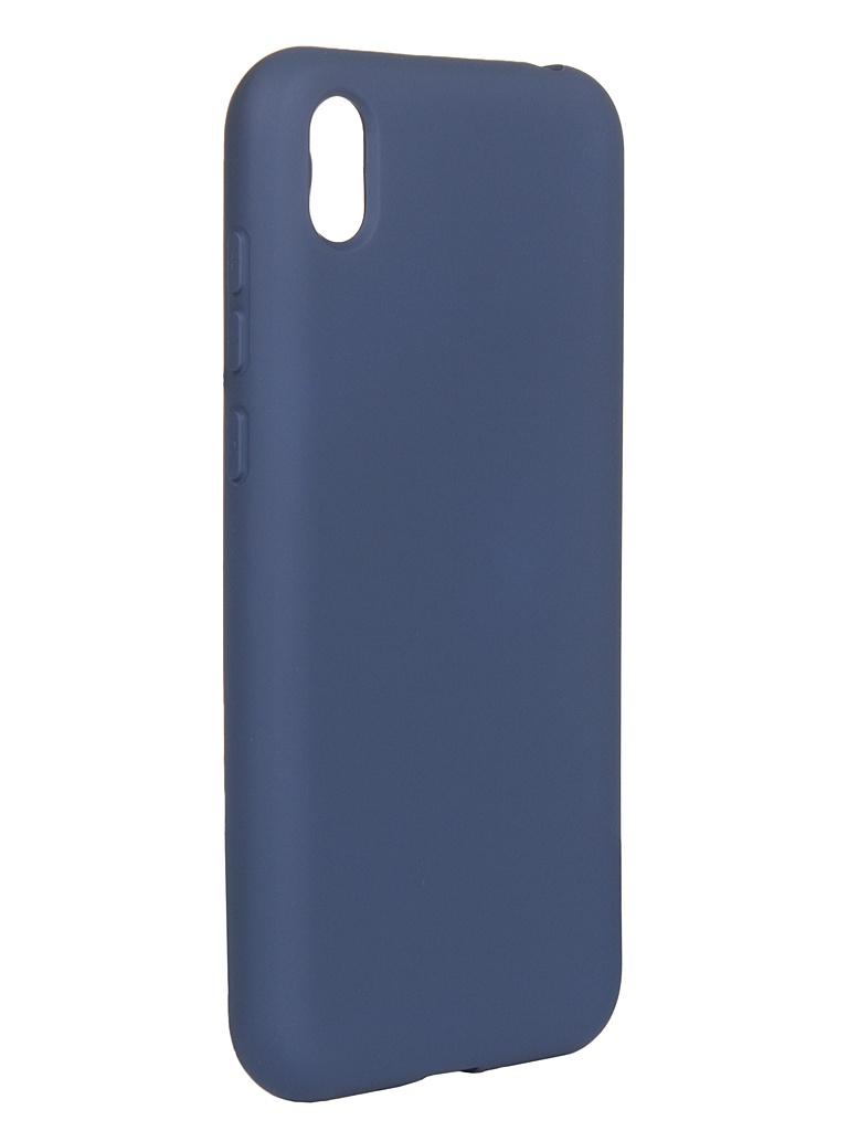 Чехол DF для Huawei Honor 8S/Y5 (2019) hwOriginal-04 Blue