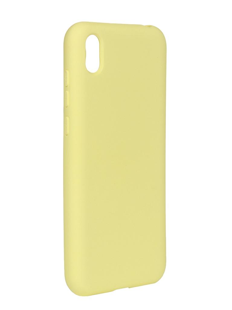 Чехол DF для Huawei Honor 8S/Y5 (2019) hwOriginal-04 Yellow
