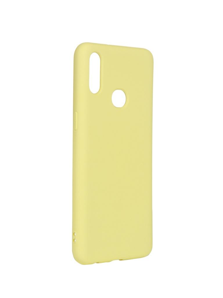 Чехол DF для Samsung Galaxy A10s sOriginal-04 Yellow