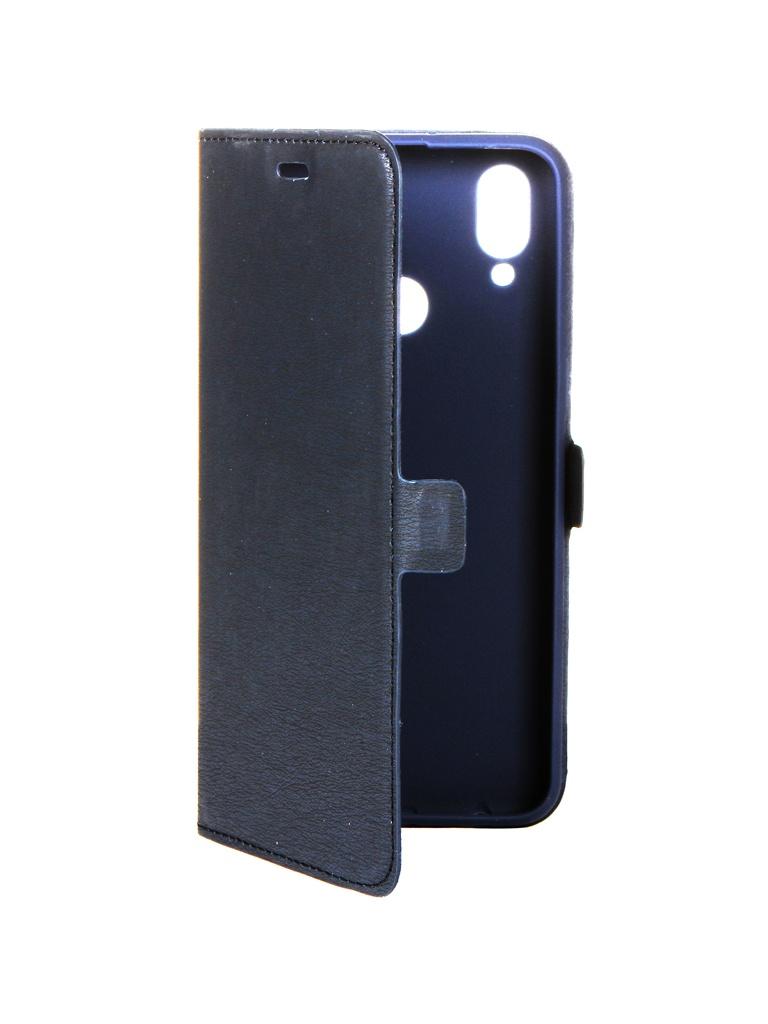 Аксессуар Чехол DF для Samsung Galaxy A10s sFlip-55 Blue