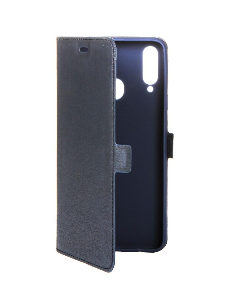 Аксессуар Чехол DF для Samsung Galaxy A20s sFlip-56 Blue
