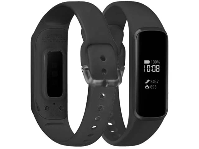 Aксессуар Ремешок DF для Samsung Galaxy Fit-e 0.74 sClassicband-02 Black