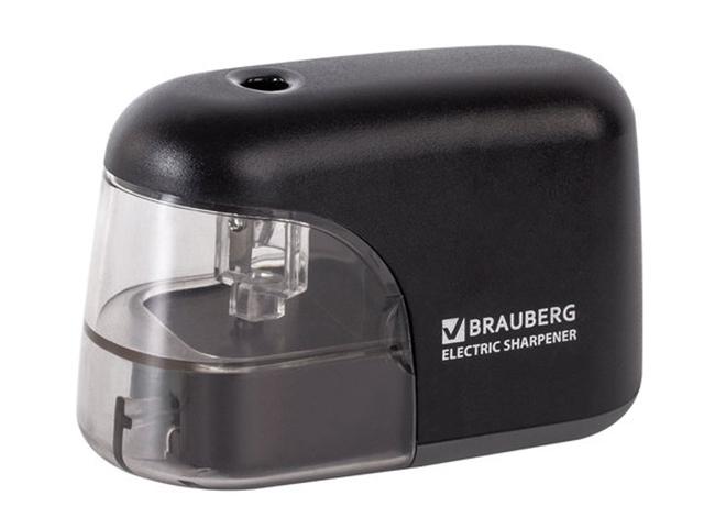 Точилка электрическая Brauberg Black Jack 228424