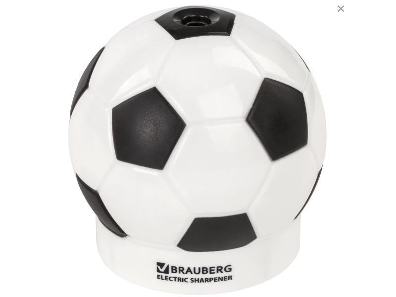 Точилка электрическая Brauberg RG Football 228427