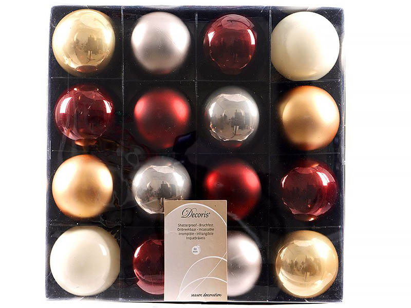Kaemingk Набор шаров Deluxe Шоколадная Фантазия 16шт 023636