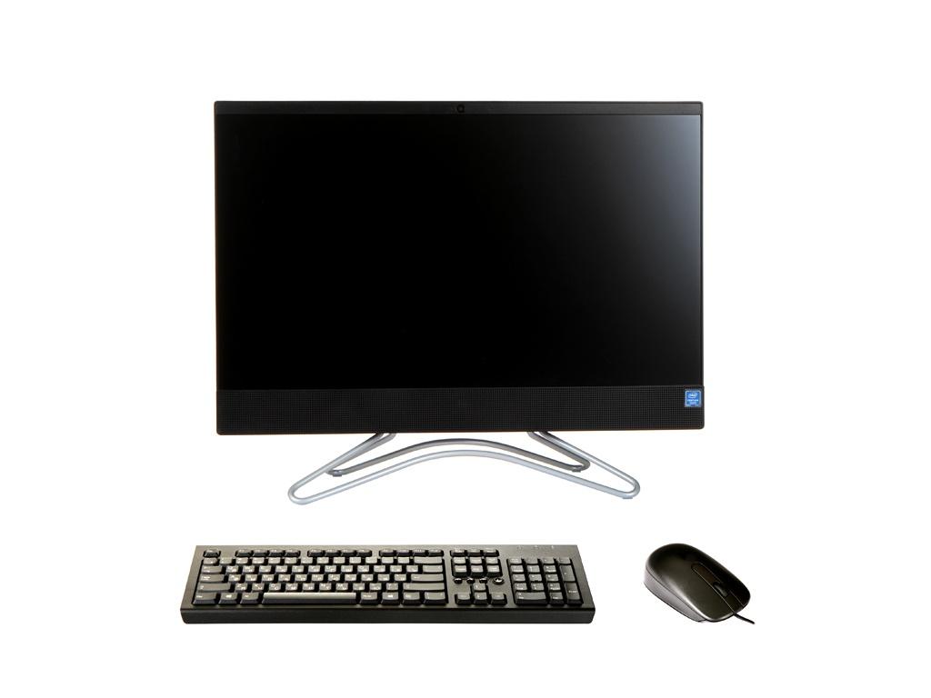 Моноблок HP 200 G3 Black 4YW26ES (Intel Pentium J5005 1.5 GHz/4096Mb/128Gb SSD/Intel HD Graphics/Wi-Fi/Bluetooth/21.5/1920x1080/DOS)