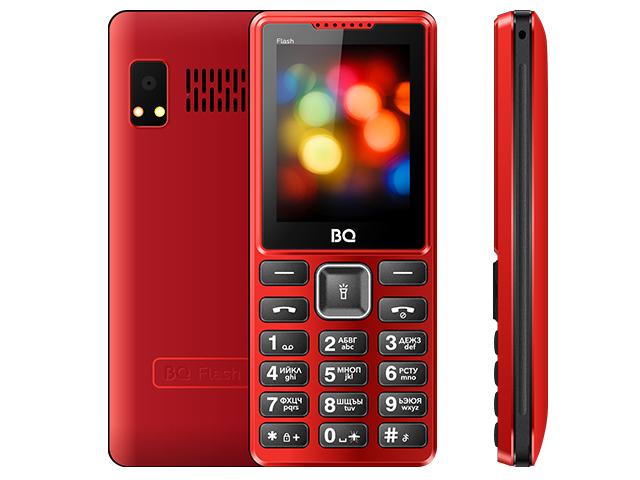 Сотовый телефон BQ 2444 Flash Red цена и фото