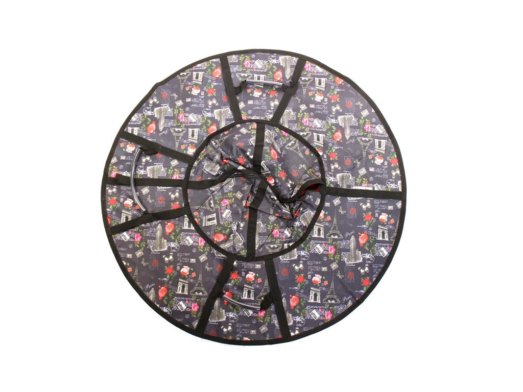 Тюбинг Hubster Люкс Pro 110cm Парижская ночь ВО5352-5