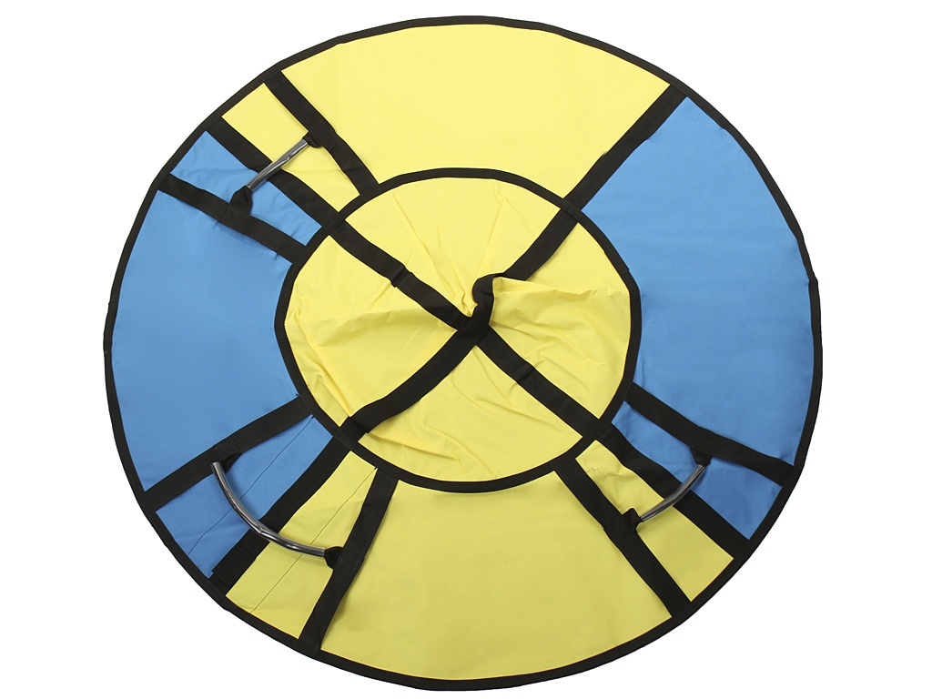 Тюбинг Hubster Хайп 120cm Yellow-Turquoise ВО5557-4
