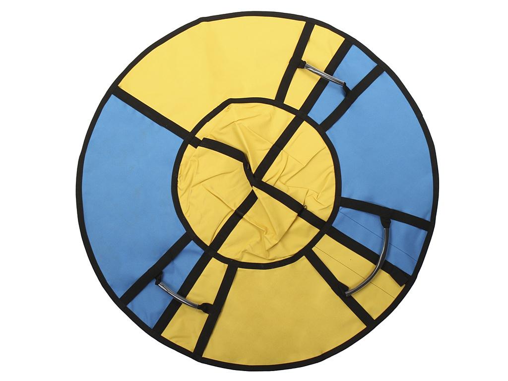 Тюбинг Hubster Хайп 110cm Yellow-Turquoise ВО5557-2