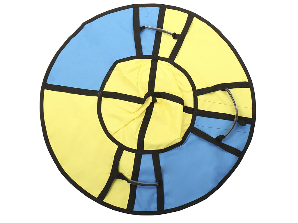 Тюбинг Hubster Хайп 100cm Yellow-Turquoise ВО5557-3
