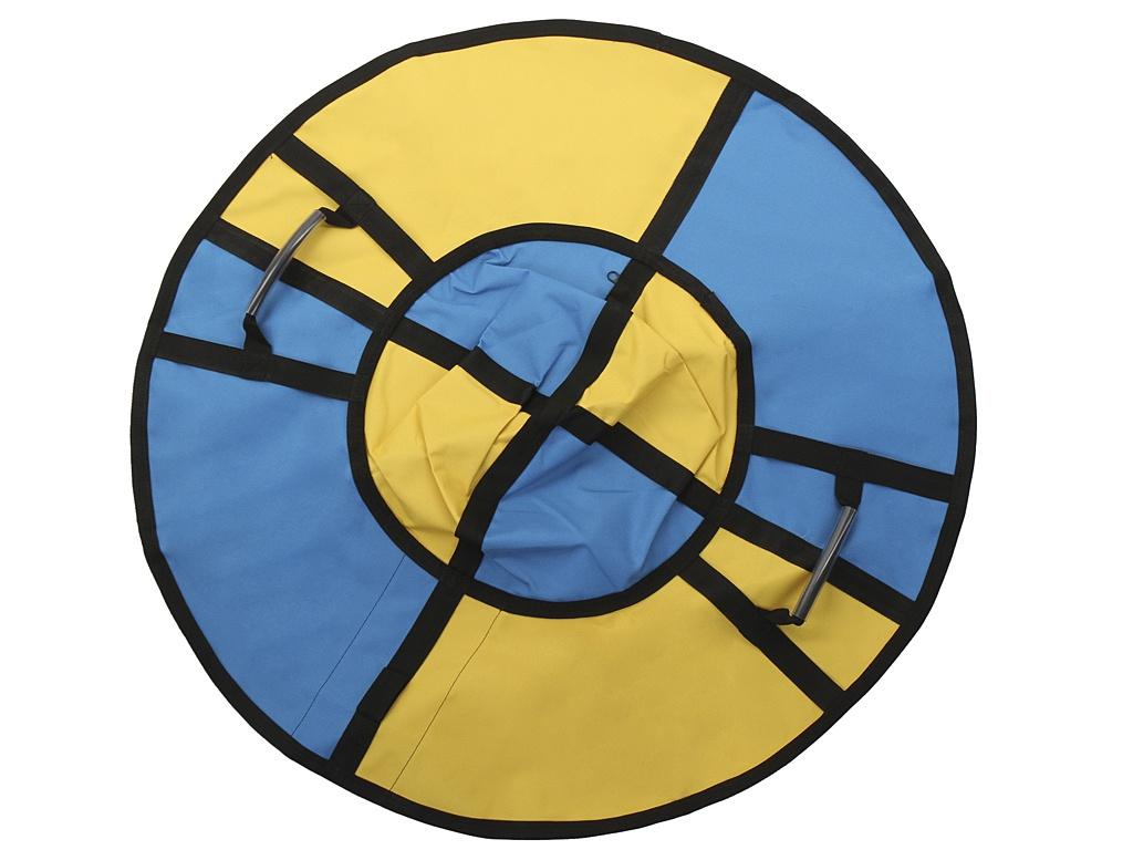 Тюбинг Hubster Хайп 90cm Yellow-Turquoise ВО5557-1