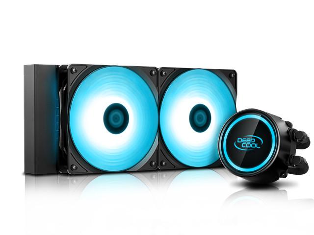 цена на Водяное охлаждение DeepCool Gammaxx L240 V2 RGB ( Intel LGA20XX/LGA1366/LGA115X AMD AM4/AM3+/AM3/AM2+/AM2/FM2+/FM2/FM1)