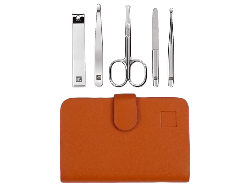 Маникюрный набор Xiaomi Huo Hou Stainless Steel Nail Clipper Set stainless steel nail clipper silver