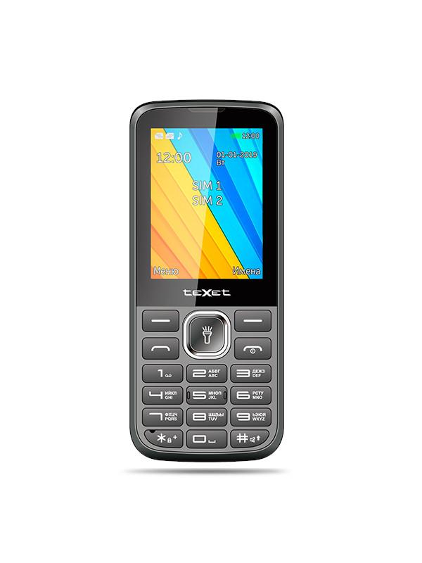 Сотовый телефон teXet TM-213 Black