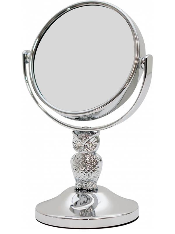 Зеркало косметическое Belberg BZ-11 Сова с 5-тикратным увеличением