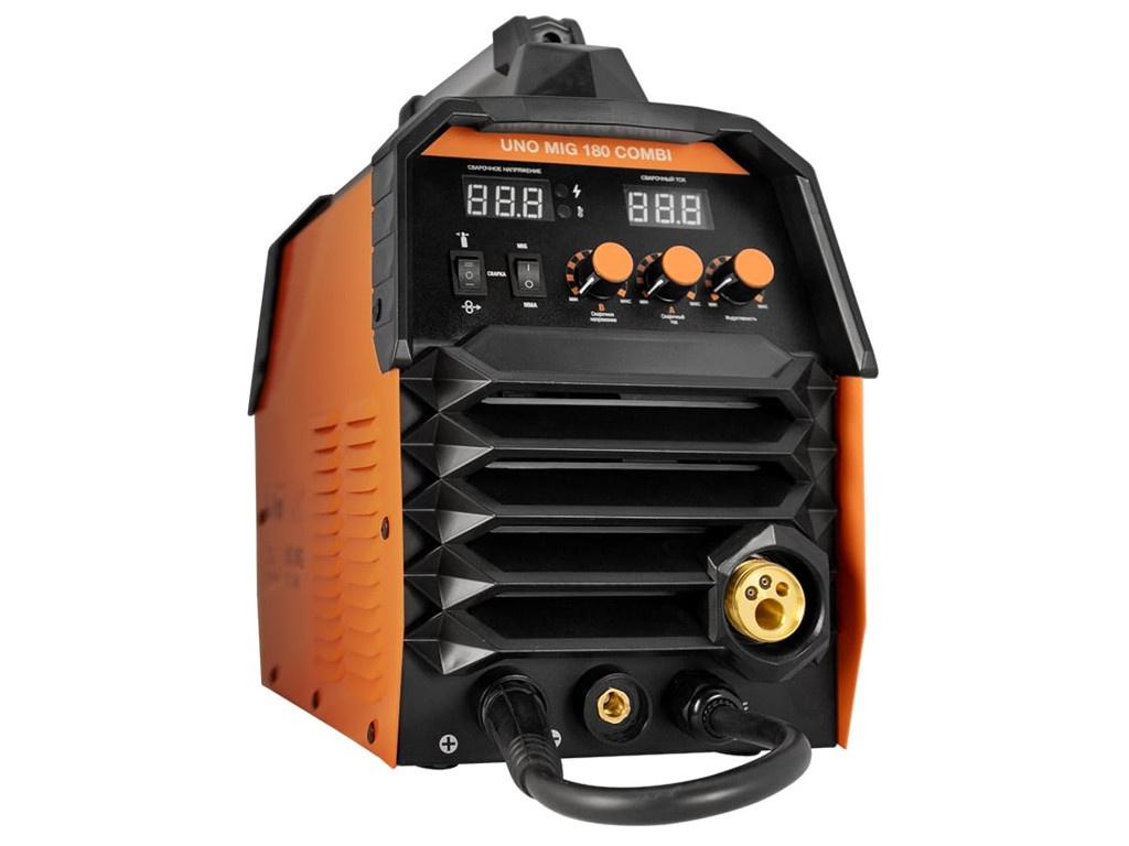 Сварочный аппарат FoxWeld Uno Mig 180 Combi 6787 цена в Москве и Питере