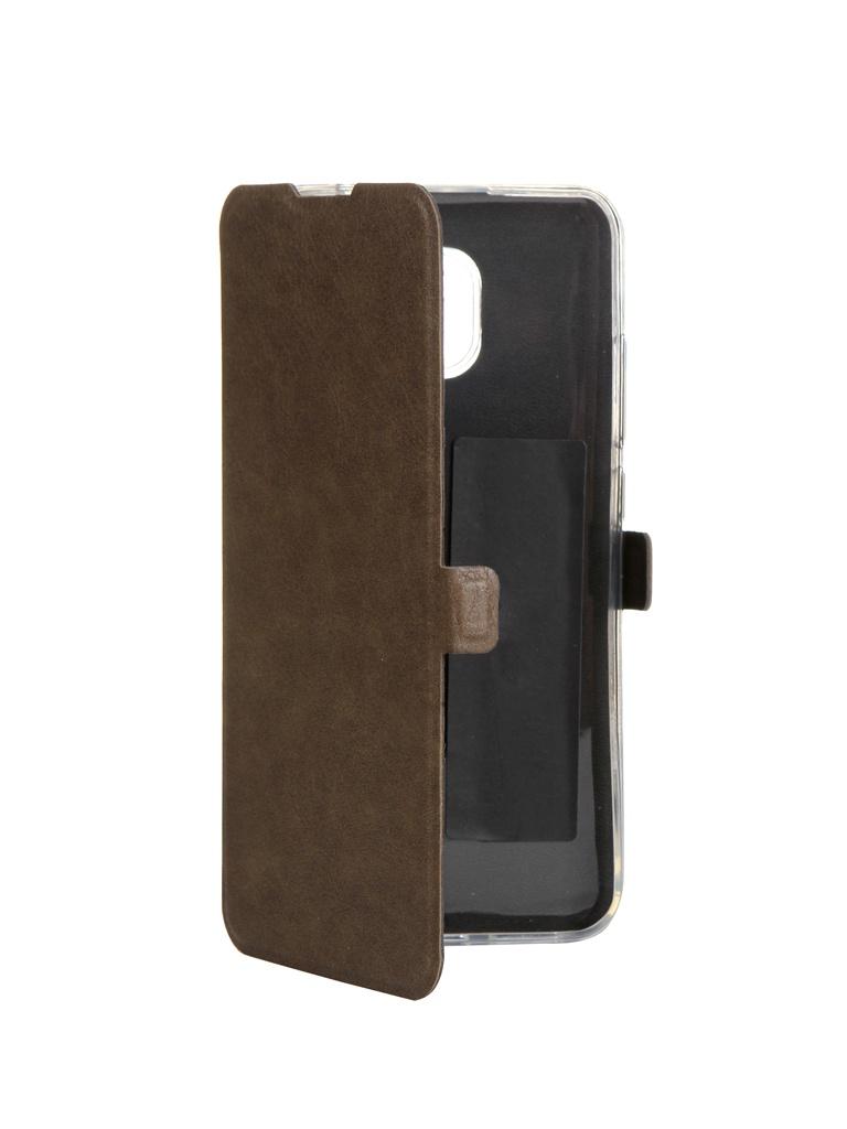 Чехол CaseGuru для Xiaomi Redmi 8A Magnetic Case Light Brown 106321