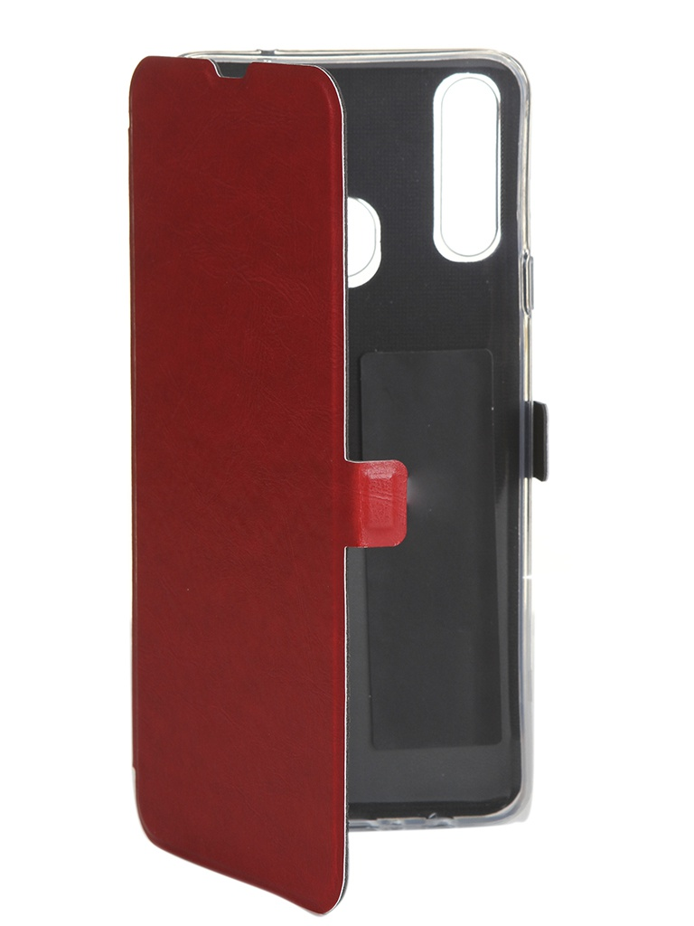 Чехол CaseGuru для Samsung Galaxy A20s Magnetic Case Glossy Red 106149