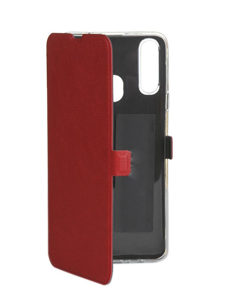 Чехол CaseGuru для Samsung Galaxy A20s Magnetic Case Ruby Red 106155 аксессуар чехол samsung galaxy j1 mini prime caseguru magnetic case dark black 100475