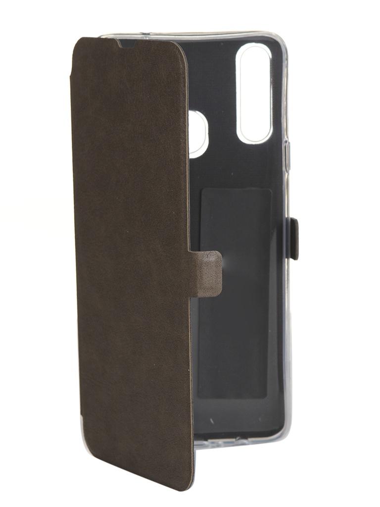 Чехол CaseGuru для Samsung Galaxy A20s Magnetic Case Light Brown 106156 аксессуар чехол samsung galaxy j1 mini prime caseguru magnetic case dark black 100475