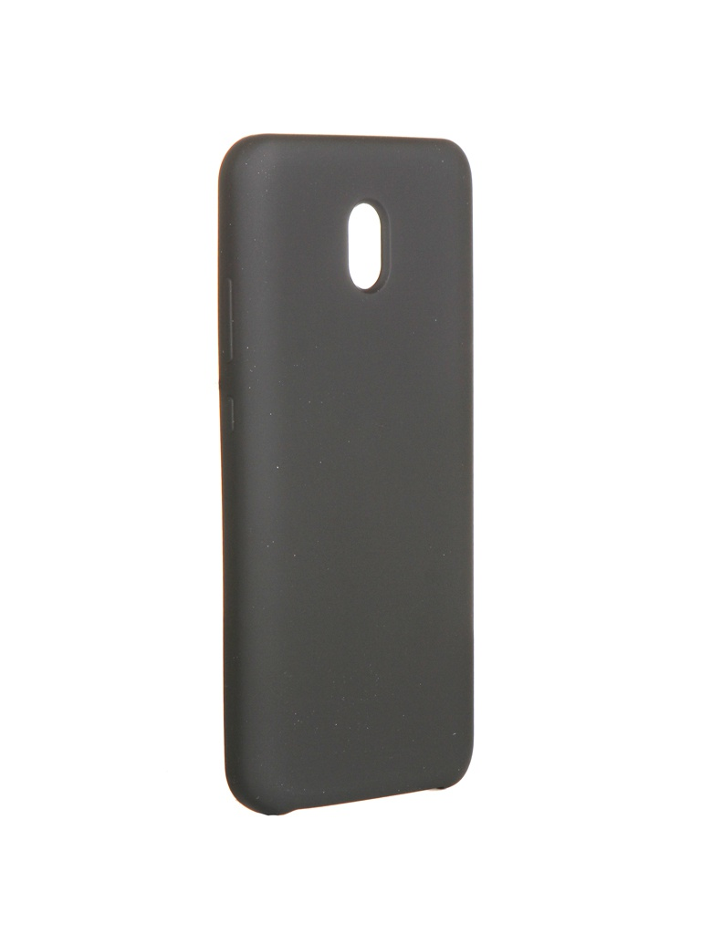 Чехол CaseGuru для Xiaomi Redmi 8A Soft-Touch 0.5mm Black 106375