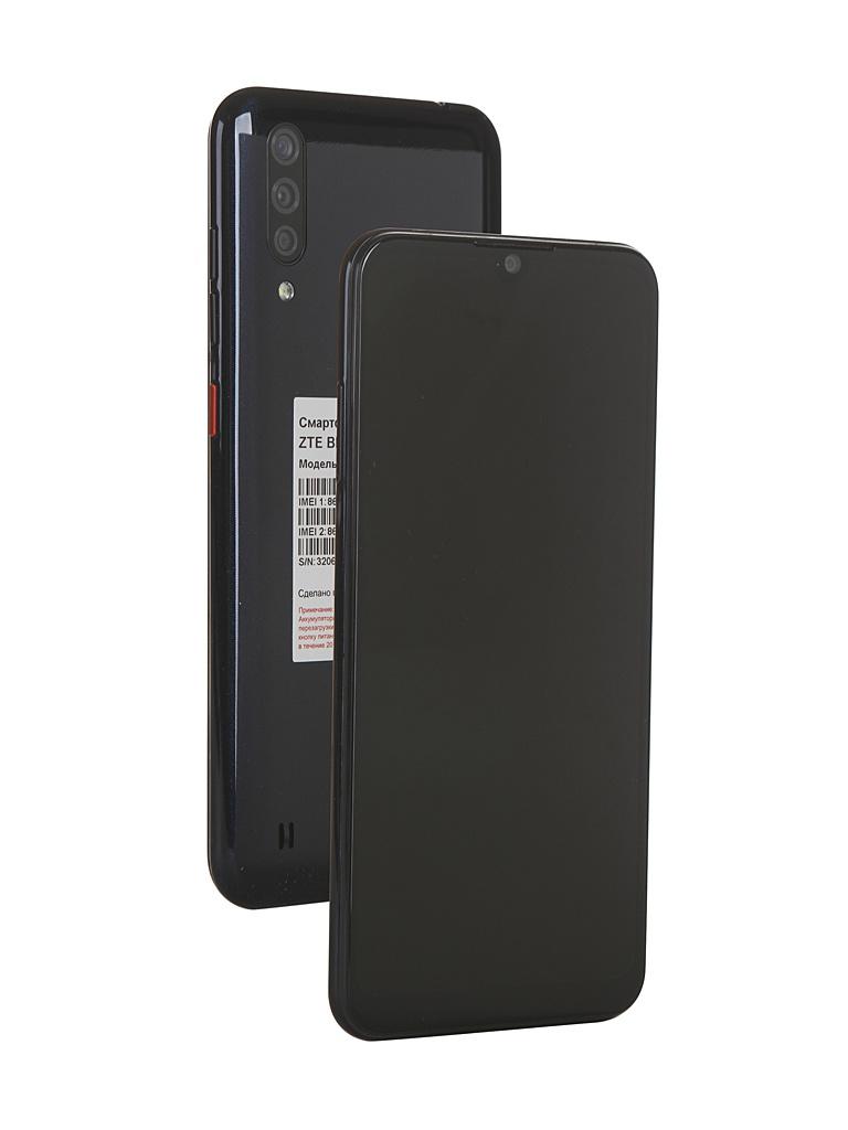Сотовый телефон ZTE Blade A7 (2020) 2/32GB Black сотовый телефон zte blade v9 3gb ram 32gb gold