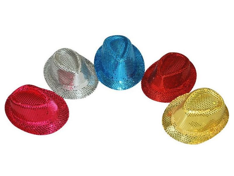 Карнавальная шляпа СмеХторг с пайетками