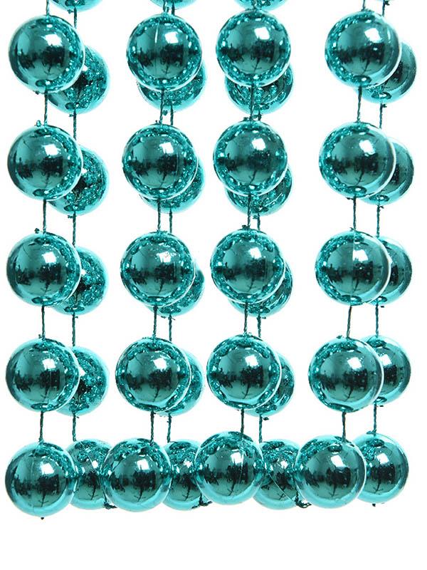 Бусы Kaemingk Гигант 2.7m Turquoise 001849