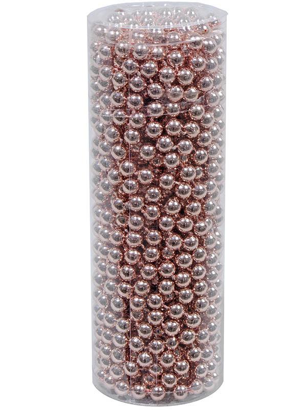 Украшение Kaemingk Бусы Цветной бисер 10m Pink 000710