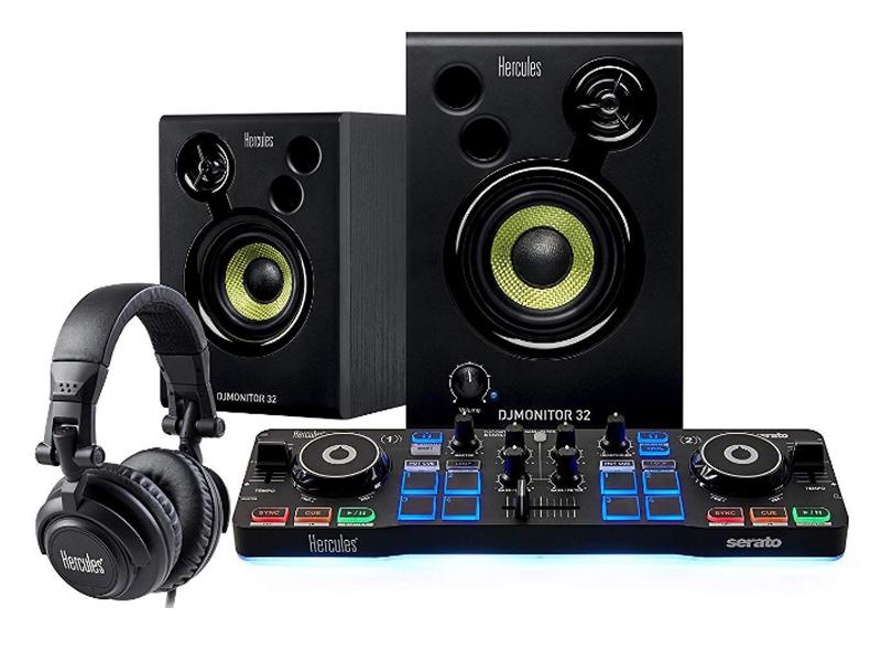 Фото - Dj контроллер Hercules DJ Starter Kit 4780890 hercules расческа силиконовая рабочая женская 17 8 см