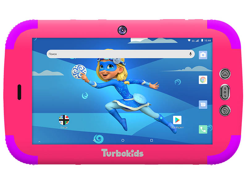 Планшет TurboKids Princess 3G 16Gb Pink