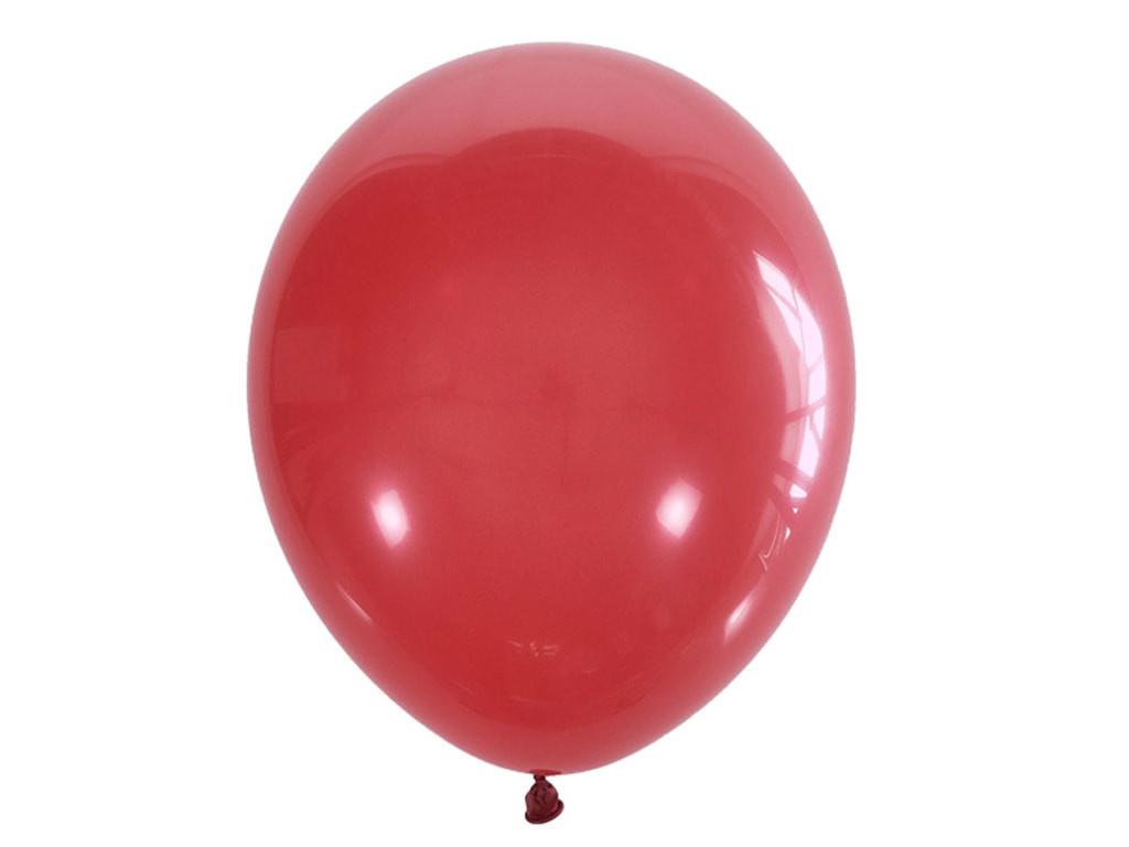 Набор воздушных шаров Поиск 30cm 100шт Red 4607145436112