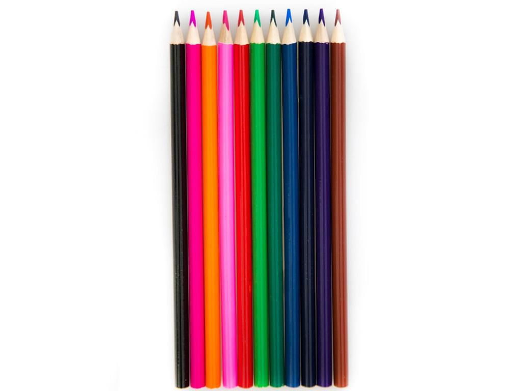 Карандаши цветные Мульти-пульти Енот в Испании 12 цветов CP_10754