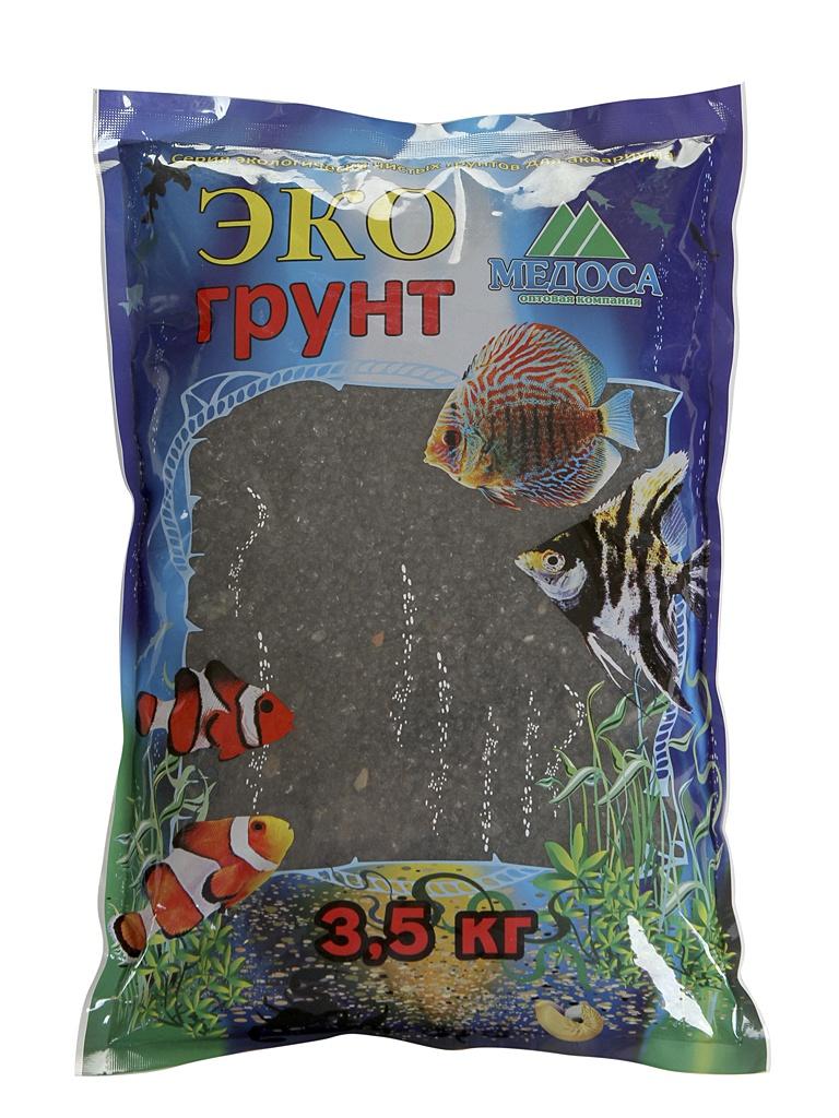 Грунт Эко грунт 3-5mm 3.5kg Black Crystal г-0124