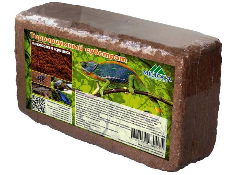 Средство Медоса Субстрат террариумный Кокосовая крошка 650гр 81071