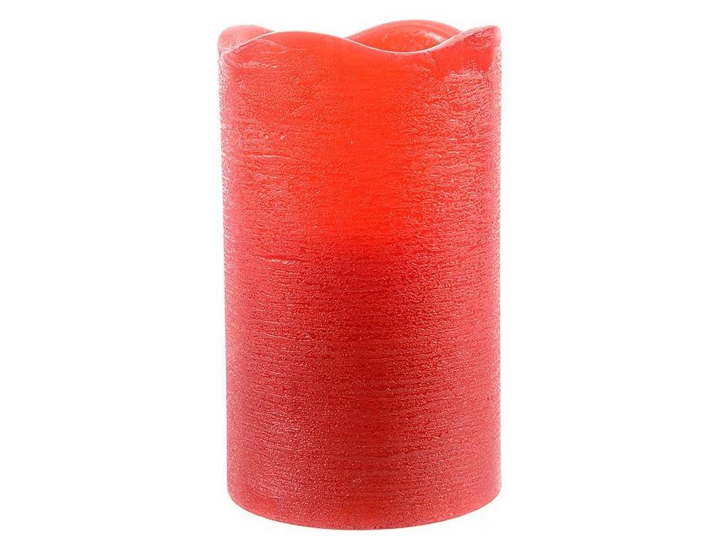 Светодиодная свеча Kaemingk Классика 7.5x10cm Red 483379