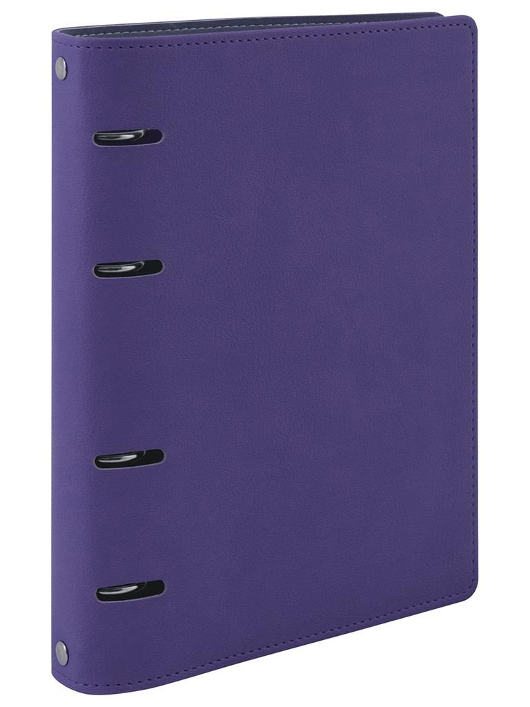 Тетрадь на кольцах Brauberg Joy A5 120 листов Purple-Light Purple 129989