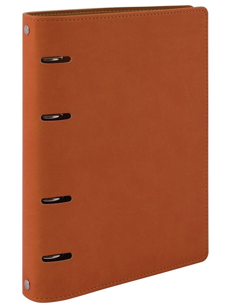 Тетрадь на кольцах Brauberg Joy A5 120 листов Orange-Light Orange 129992