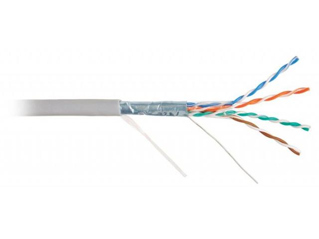 Сетевой кабель Ripo FTP4 cat.5e 24AWG CCA 100m 001-122002/100