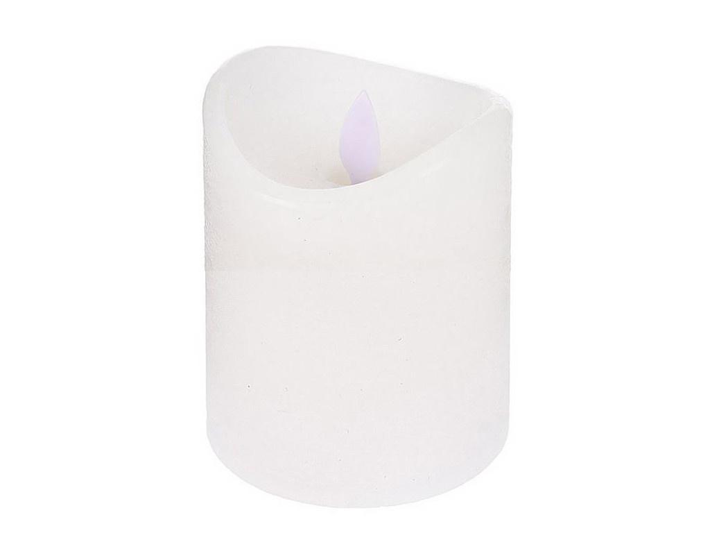 Светодиодная свеча Koopman International Уютный свет 7.5x10cm White AX5400000