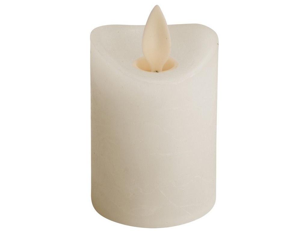 Светодиодная свеча Koopman International Танцующее пламя 5x6.5cm Cream AX5402110