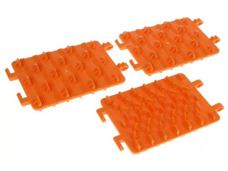 Антипробуксовочная лента Трикап Эконом 3шт Orange в сумке