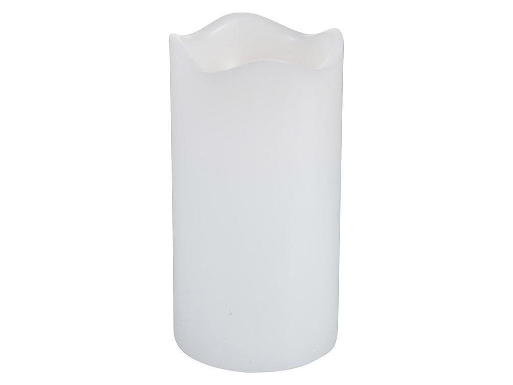 Светодиодная свеча Koopman International Мерцающая 7x13cm White ACA200200