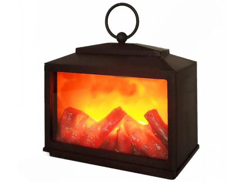 Электрокамин Neon-Night Сканди с эффектом живого огня 18x9x16cm 511-033